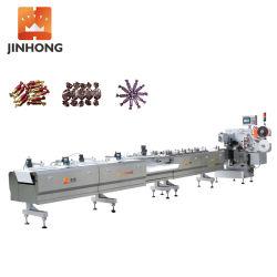 JH-S800X02 고속 자동 수평 이중 트위스트 푸드 패킹 머신 / Candy/Chocolate/Nougat용 포장 기계/포장 기계