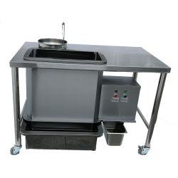 Roestvrijstalen eenvoudige werkbank eenvoudige bankje voor het uitbanken tafel Western Fast Voedsel KFC Fryer Equipment Wrapping Power Table