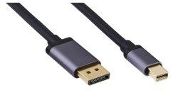 4K 8K Mini DisplayPort-naar-DisplayPort-kabel 6FT voor projector