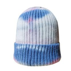 تصميم جديد من الخرز الأرنب الساخنة بالأرنب قبعات رقيقة من القماش قبعات الشتاء المحبوكة