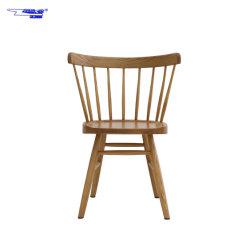 Piscina Nova concepção simples restaurante de madeira sólida cadeiras de jantar