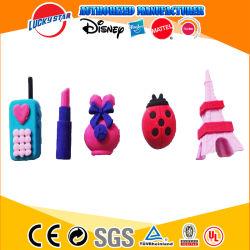 3D Kleine Speelgoed van de Toren van Eiffel van de Gommen van de Lieveheersbeestjes van de Punten van de Kantoorbehoeften van de Nieuwigheid TPR voor de School van Kinderen