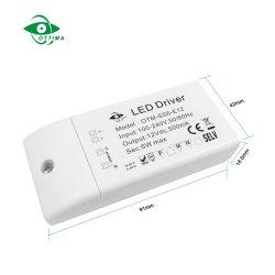 Driver costante di piccola dimensione di tensione LED di 24V 6W