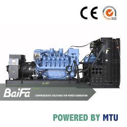 La haute tension électrique de gazole 800kVA Groupe électrogène à 4000kVA Propulsé par Cummins moteur Perkins MTU Baudouin usine Groupe électrogène de groupe électrogène