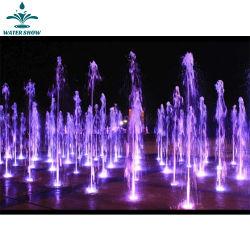 Usine de lumière colorée d'alimentation en eau souterraine de la musique de danse Fontaine des terres arides