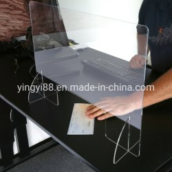 Пользовательский экран акриловый кухонном столе Sneeze ограждение - Защитные щитки
