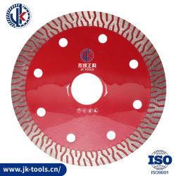 China herramientas de diamante y Turbo nuevo Turbo de la hoja de sierra de diamante / Disco de corte / Mata Potong / alicates de corte para cortar azulejos de cerámica y porcelana con prensado en caliente 4''.