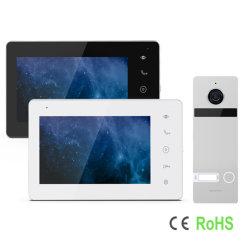 IP/WiFi HD 2 fils de toucher le bouton Smart Doorphone vidéo