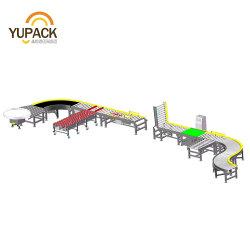 Automatische Power Motorised Transfer telescopisch uitbreidbaar flexibel schaatwiel/doos/doos/koffer Bandtransporteur