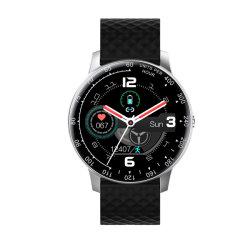 Bluetooth cámara Smartwatch Face 1.3 de fitness totalmente táctil Smartwatch la frecuencia cardiaca de la presión arterial Reloj inteligente