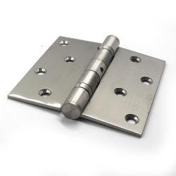 Fenêtre d'aluminium Matériel 2 ou 4 Ball audience satin de 4 pouces de la charnière de soudure en acier inoxydable