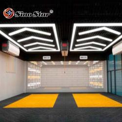 St5018 W4.71m2.35*L Voiture lumière LED de beauté détaillant de produits de soins Auto Auto de la conception de l'atelier de lavage de voiture de gros de fournitures