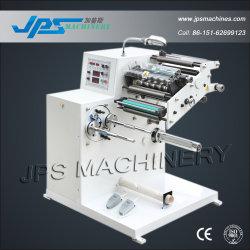 Jps-320fq-Tr tourelle automatique rembobineur trancheuse/ rembobinage de la machine à refendre autoadhésif étiquette papier thermique Rouleau de film autocollant