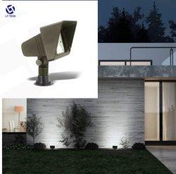مصباح حلقة LED بالحائط مع مصابيح الإضاءة الخارجية المزخرفة للفيضان