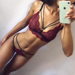 سعر الجملة رخيصة أزياء النساء Lace وضعت مثير Lingerie N0003