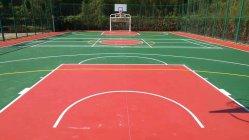 옥외 농구 테니스 코트를 위해 마루청을 까는 탄력 있는 아크릴 스포츠