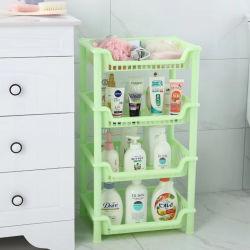 Plastikgerät des fach-4-Shelf für Küche-/Badezimmer-Speicher