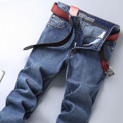 Jeans für Männer nehmen passende Jeans-männliche Denim-Jeans-Entwerfer-Hose-beiläufige dünne gerade Elastizität-Hosen des Hosen-Klassiker-2020 ab