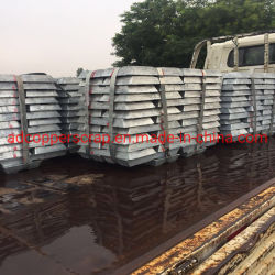 Les lingots de zinc spéciale de haut grade 99,995 Zamak en alliage de zinc 8