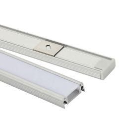 La Chine usine Cabinet de gros de la lumière de l'aluminium conduit Alu Profil de bande de canal