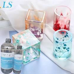 Alta de cristal transparente resina increíbles gotas de pegamento Ab bricolaje joyería artesanal el molde con resina epoxi Hard pegamento Super Glue Ab clara