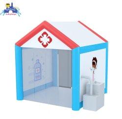 Désinfection gonflable Lilytoys tente avec la machine pour la société d'urgence/école/Centres Commerciaux