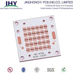 Lado único FR4 revestidos de cobre de cobre laminadas substrato PCB do LED