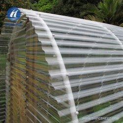 Transparente Wellpappe Polycarbonat Blatt für Garten einfaches Haus & Gewächshaus