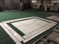 De natuurlijke Tegel van Calacatta van de Steen Witte Marmeren voor de Tegels van de Muur/van de Vloer/Decoratief Countertop