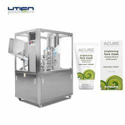 Schönheits-Haut-Sorgfalt-Produkte in Gefäß-Paket-füllender Dichtungs-Maschine