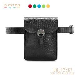 Correia de designer de moda mulheres PU Senhoras bolsa à cintura Snake Saco de telefone da correia de acessórios de moda