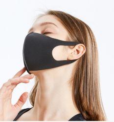 Commerce de gros adultes unisexe anti poussière froide Coton noir masque réutilisables