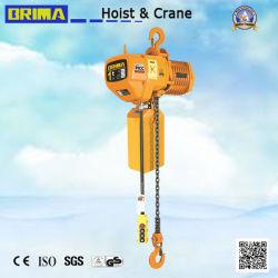 Brima Type fixe 1t palan électrique à chaîne avec le crochet