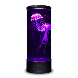 Fantasy Medusas Lava Lâmpada Decoração Aquário do Tanque
