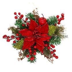 Dekorativer Stern-WeihnachtsWreath Prelit WeihnachtsWreath für Dekoration