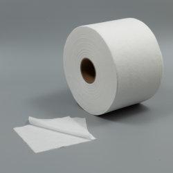 قطع قماش رطبة للبيع الساخن بأسطوانات مصنوعة من النسيج غير منسوجة مصنوعة من مادة غير مزركشة 50%Viscose 50%من الألياف غير المحبوكة المصنّع