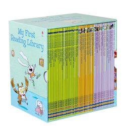 50 livres/Set Usborne ma première lecture la bibliothèque l'anglais Picture Books Bébé Mots de la petite enfance de l'apprentissage pour les enfants de cadeaux