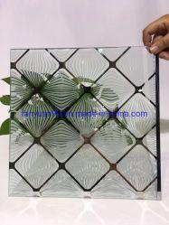 Cristal decorativo/ vidrio ácido Ecthed Titianium/ vidrio/pantalla de seda Fábrica de Cristales de venta
