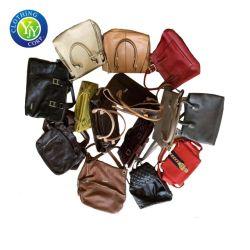 La mujer bolsos de cuero Bolsos de segunda mano usados en bolsas de fardos Precio
