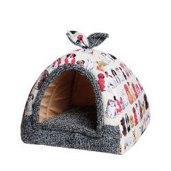 Hotsale Productos para Mascotas Perro Caliente esponjoso de la casa de alimentación con cojín