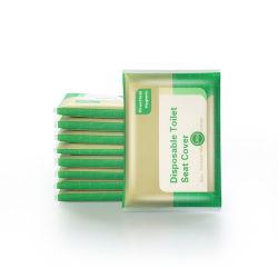 Papieren zakdoekje voor Ontsmettingsmiddel van het Papieren zakdoekje van de Zetel van het Toilet van de Dekking het Draagbare