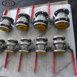 DIN Pn16 ألومنيوم برونزي C95400 C95500 C95800 C83600 كبول الأكسجين الصمام