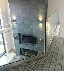 Sistema de barandilla de vidrio sin cerco de aluminio Residencial Comercial Balocny / / Valla barandilla