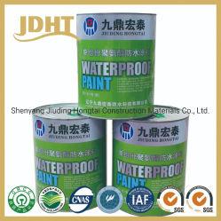 溶媒かオイルは単一のコンポーネントPUポリウレタン防水コーティングを基づかせていた