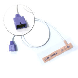 極度の昇進互換性がある大人の使い捨て可能なSpO2センサー9ピンはすべて忍耐強いモニタの医療機器を決め付ける