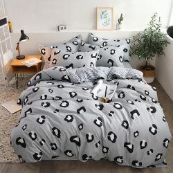 La Chine fournisseur en gros Accueil fabricant de textiles imprimés léopard Ensemble de Literie Linge de literie