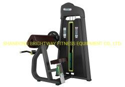 Salle de gym de l'équipement commercial muscle du bras de l'exercice// LE BRAS Curl Curl biceps assis