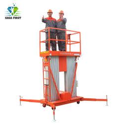 6~24m vertical hydraulique de levage électrique de l'aluminium l'homme travail plate-forme d'antenne