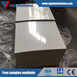 PE/PVDF/Feve feuille en aluminium de couleur pour la décoration de plafond