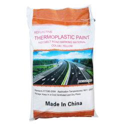 Polvere termoplastica di prezzi bassi di alta qualità che ricopre la vernice calda della marcatura di strada della fusione